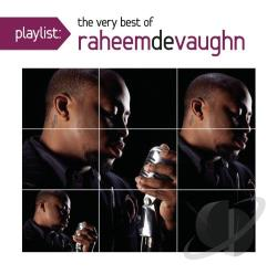 Devaughn, Raheem - Playlist: The Very Best of Raheem DeVaugn CD Cover Art