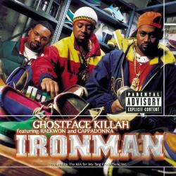 Ghostface Killah - Ironman CD Cover Art