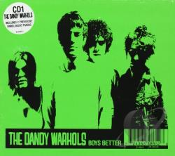 Dandy Warhols - Boys Better CD Cover Art