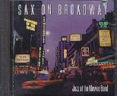 Jazz At The Movies Band - Sax On Broadway CD Cover Art
