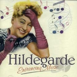 Hildegarde - Entrancing Music CD Cover Art