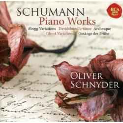 Schnyder, Oliver / Schumann - Schumann: Piano Works CD Cover Art