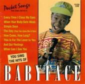 Karaoke - Karaoke: Babyface CD Cover Art