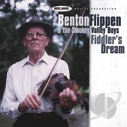 Flippen, Benton & The Smokey Valley Boys - Fiddler's Dream CD Cover Art