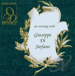 Di Stefano, Giuseppe - An Evening with Giuseppe Di Stefano CD Cover Art