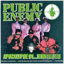 Public Enemy - Apocalypse 91...The Enemy Strikes Black CD Cover Art