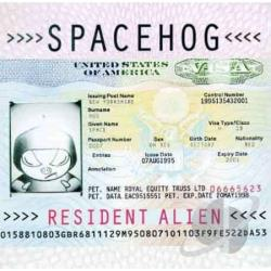 Spacehog - Resident Alien CD Cover Art