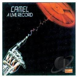 Camel - Live Record CD Cover Art