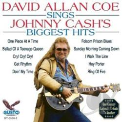 Coe, David Allan - Sings Johnny Cash's Biggest Hits CD Cover Art