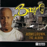 Bravo - Homegrown; The Album CD Cover Art