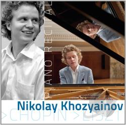 Chopin / Khozyainov / Liszt - Piano Recital CD Cover Art