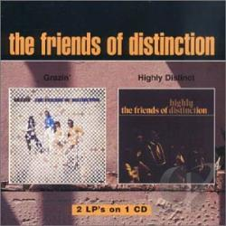 Friends Of Distinction - Grazin'/Highly Distinct CD Cover Art
