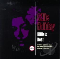 Holiday, Billie - Billie's Best CD Cover Art