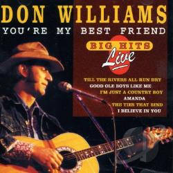 Williams, Don - You're My Best Friend CD Cover Art