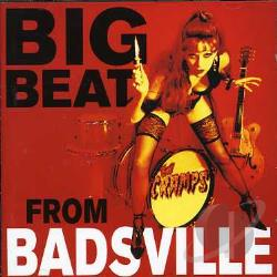 Cramps - Big Beat From Badsville CD Cover Art