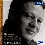 Boyde, Andreas - Brahms: Complete Works for Solo Piano, Vol. 3 CD Cover Art