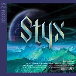 Styx - Icon 2 CD Cover Art