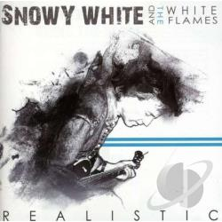 White, Snowy & The White Flames - Realistic CD Cover Art