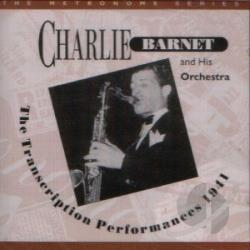 Barnet, Charlie - Transcription Performances 1941 CD Cover Art