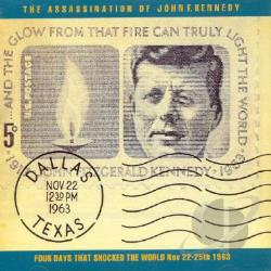 Assassination Of John F. Kennedy: Four Days That Shocked The World Nov. 22- CD Cover Art