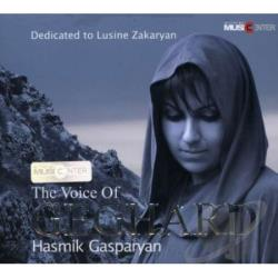 Gasparyan, Hasmik - Voice Of Geghard CD Cover Art