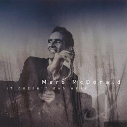 Mcdonald, Marc - It Doesn't End Here CD Cover Art