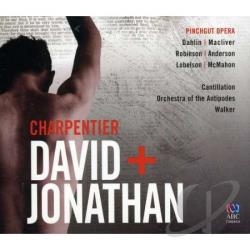 Pinchgut Opera - Marc-Antoine Charpentier: David & Jonathan CD Cover Art