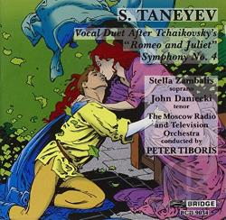 Taneyev, S. - Taneyev: Symphony No4; Duet After Tchaikovsky's CD Cover Art