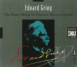 Grieg - Grieg: The Piano Music in Historic Interpretations CD Cover Art