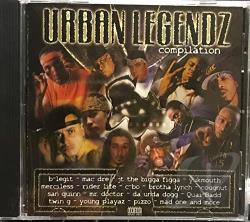 Urban Legendz CD Cover Art