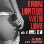 From London With Music Of James Bond - From London With Love CD Cover Art