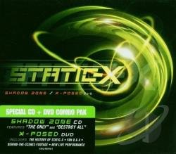 Static-X - Shadow Zone CD Cover Art