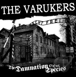 Varukers - Damnation of Our Species CD Cover Art
