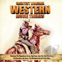 Greatest Original Western Movie Themes CD Cover Art