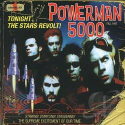 Powerman 5000 - Tonight the Stars Revolt! CD Cover Art
