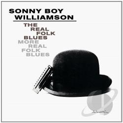Sonny Boy Williamson II - Real Folk Blues/More Real Folk Blues CD Cover Art