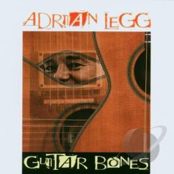 Legg, Adrian - Guitar Bones CD Cover Art
