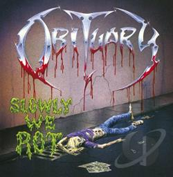 Obituary - Slowly We Rot/Cause of Death CD Cover Art