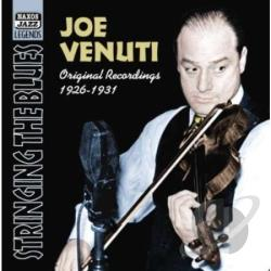 Venuti, Joe - Stringing the Blues: 1926-1931 CD Cover Art