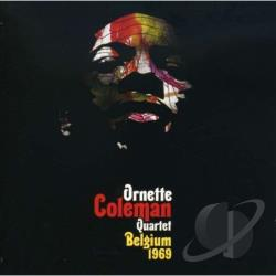 Coleman, Ornette - Belgium 1969 CD Cover Art