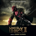 Elfman, Danny - Hellboy II: The Golden Army (OST) CD Cover Art