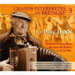 Pere, Jean - Sonneur D'Accordeon Des Pays De Red CD Cover Art