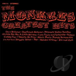 Monkees - Greatest Hits LP Cover Art