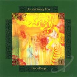 Arcado String Trio - Live In Europe CD Cover Art