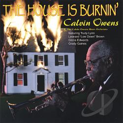 Owens, Calvin - House Is Burnin' CD Cover Art