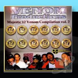 Venom - Majestic 12 Venom Compilation Vol. 2 CD Cover Art