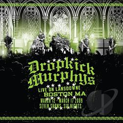 Dropkick Murphys - Live on Lansdowne, Boston MA LP Cover Art