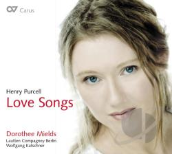 Mields / Purcell - Love Songs CD Cover Art