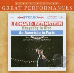 Bernstein / Gershwin / NYP / Previn - Gershwin: Rhapsody in Blue; An American in Paris CD Cover Art