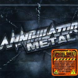 Annihilator - Metal CD Cover Art